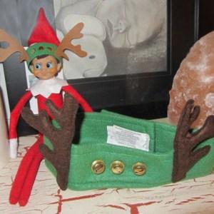 elf on the shelf reindeer antlers