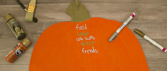 Gratitude Pumpkin: Simple Thanksgiving Craft