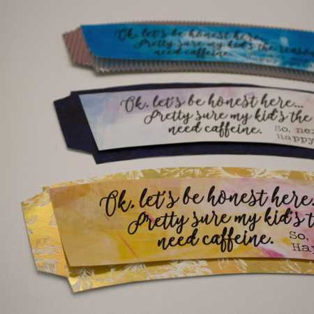Free printable coffee mug wraps