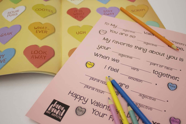 Where's The Love? A Mad Lib Valentine