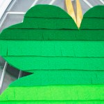 Get Lucky this St. Patrick's Day- Easy DIY Shamrock With Fringe