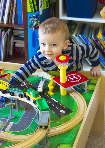 OLD TRACKS, NEW TRICKS TODDLER AND TRAINS