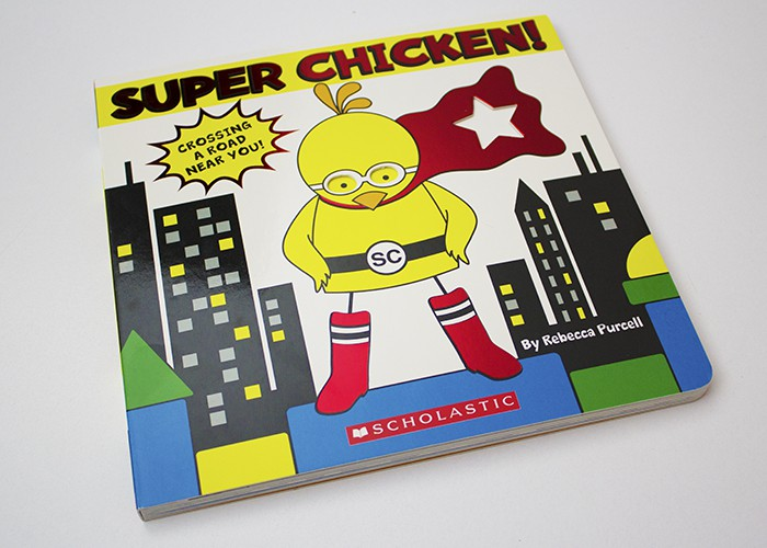 Super Chicken! Book