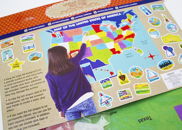 Summer Reading and Geography US Map