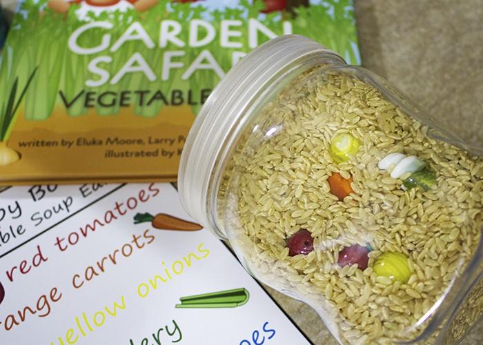 Garden Safari Vegetable Soup I Spy Sensory