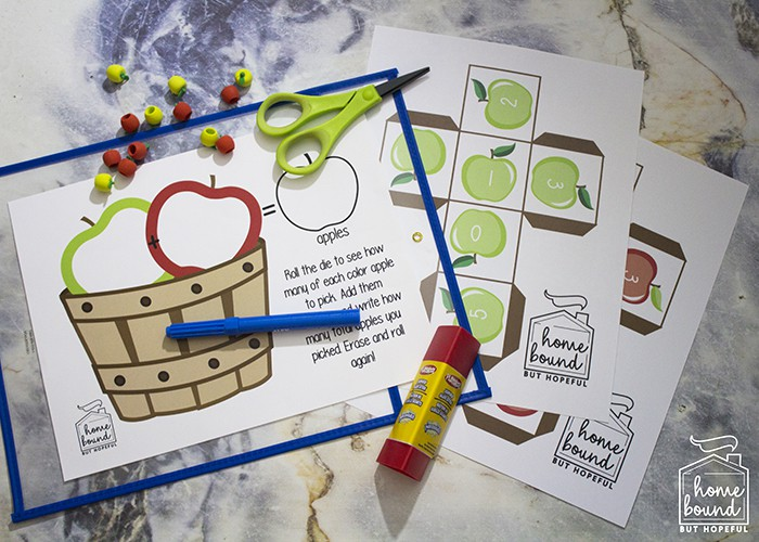 IApple Picking Math | Supplies