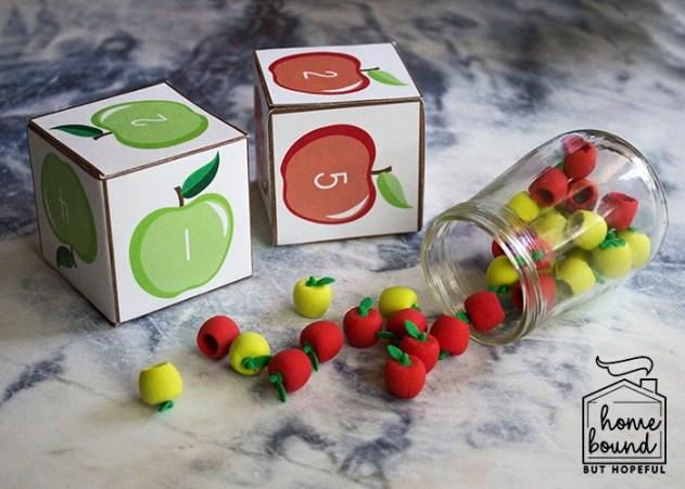Apple Picking Math | Eraser Manipulatives