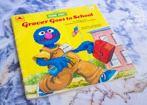 Back To School Book List- Grover Goes To School