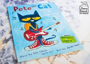 Back To School Book List- Pete The Cat Rocking In My School Shoes