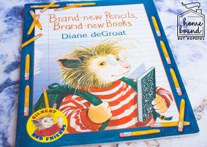 Back To School Book List- Brand-new Pencils, Brand-new Books