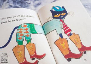 Back To School Book List- Pete The Cat Too Cool For School