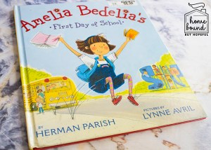 Back To School Book List- Amelia Bedelia's First Day of School
