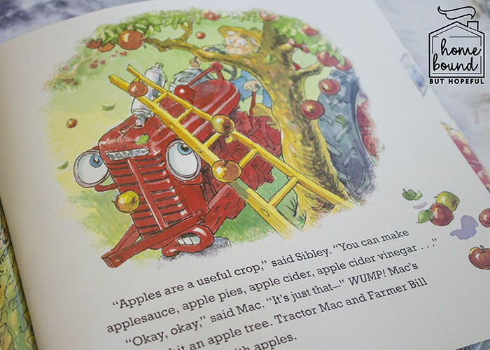 Apple Picking Harvest Time Tractor Mac: Book