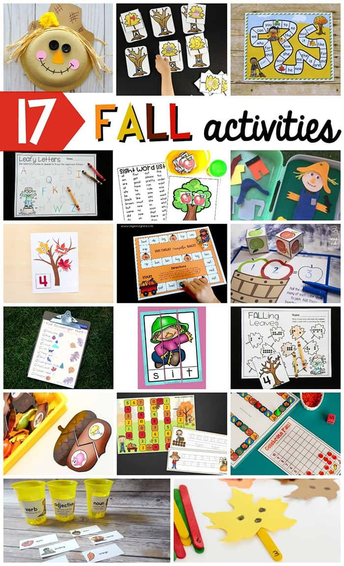 17 Fall Activities Blog Round Up