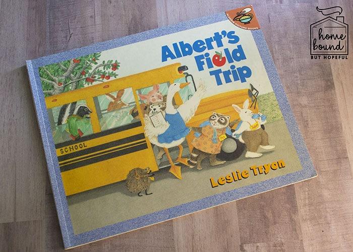 Apple Picking Story Time- Albert's Field Trip