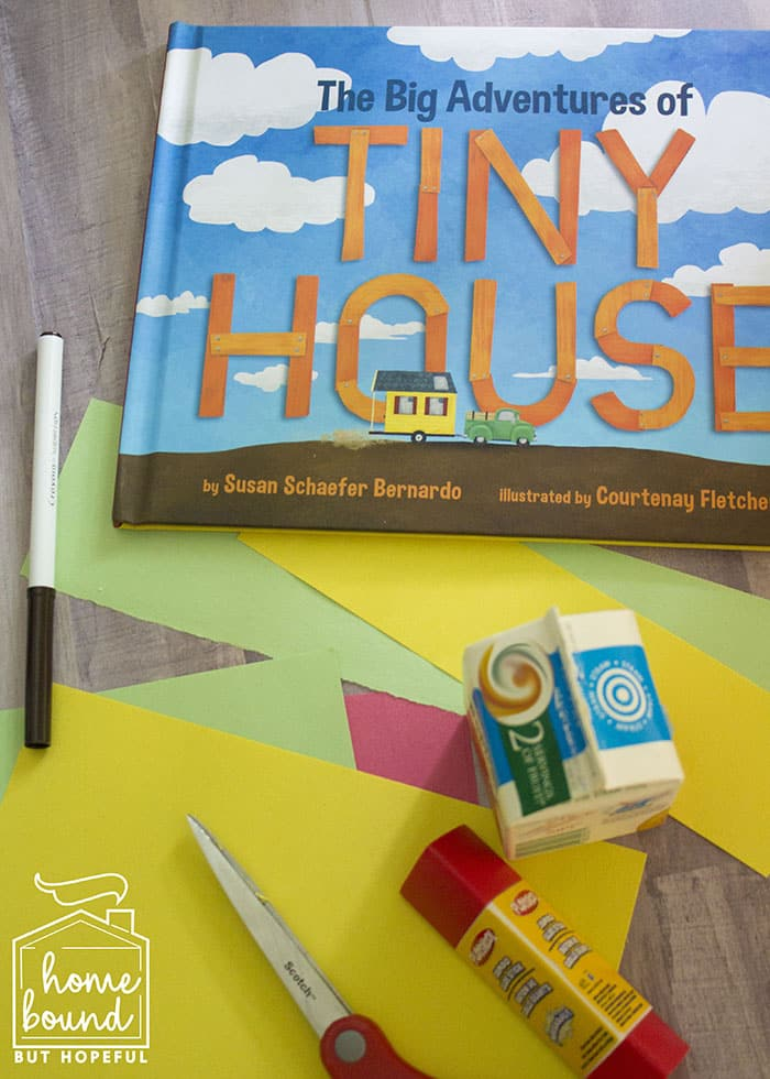 The Big Adventures of Tiny House Story Time- DrawingThe Big Adventures of Tiny House Story Time- Craft