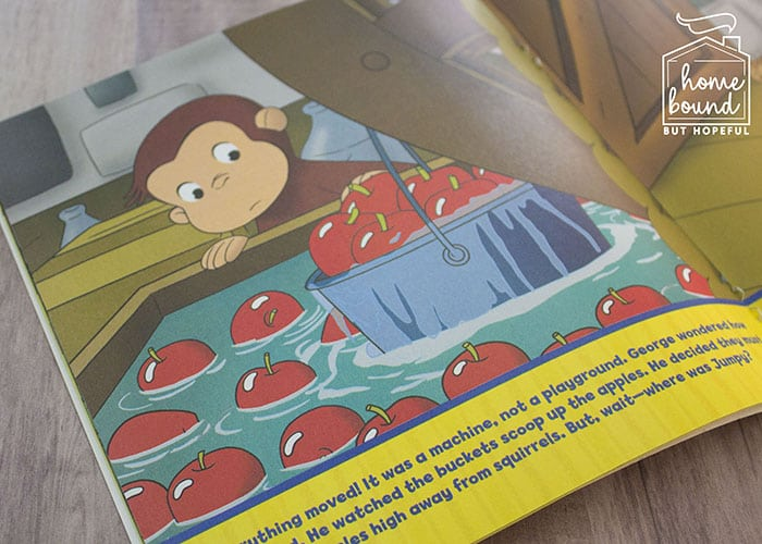 Apple Picking Story Time- Curious George Apple Harvest