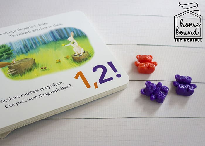 Counting Bears Story Time- Bear Counts