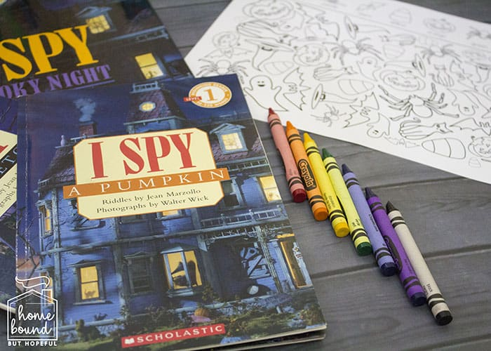 Halloween I Spy- Seek And Find Books And Printable