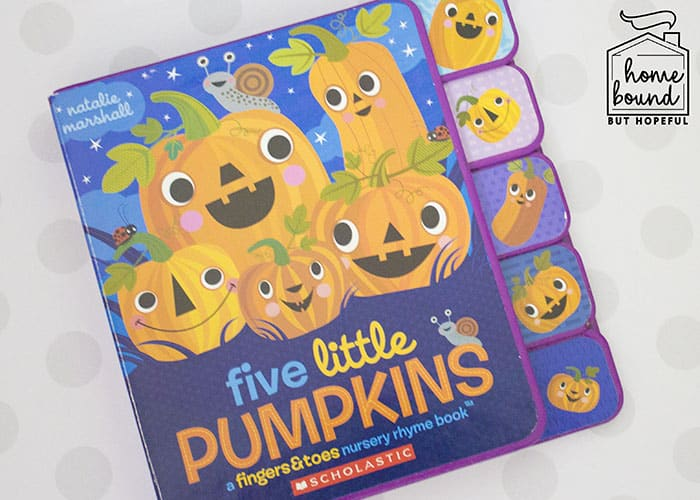 Halloween Counting Board Books- Five Little Pumpkins