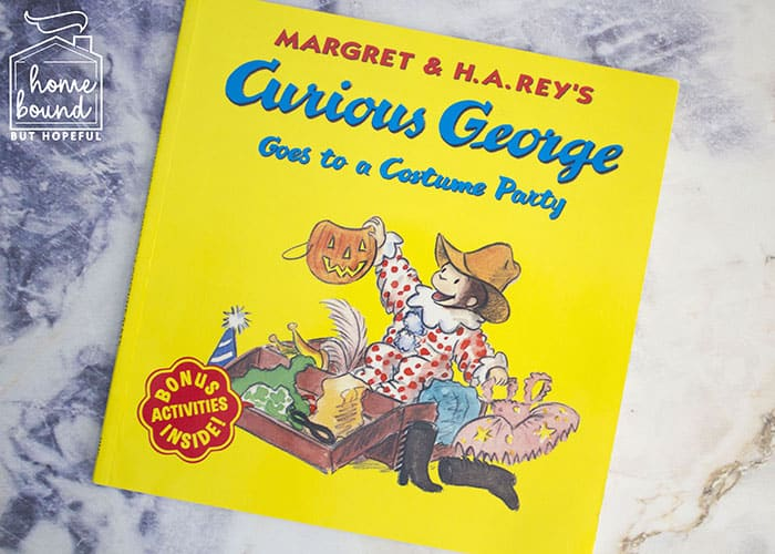 Halloween Costume Story Time- Curious George Goes To A Costume Party