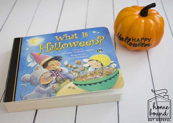 Not So Scary Halloween Book List- What Is Halloween?