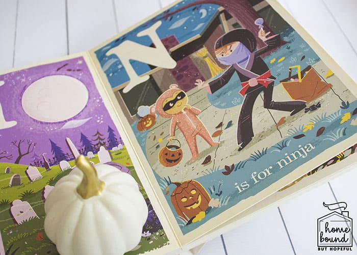 Not So Scary Halloween Book List- B Is For Boo