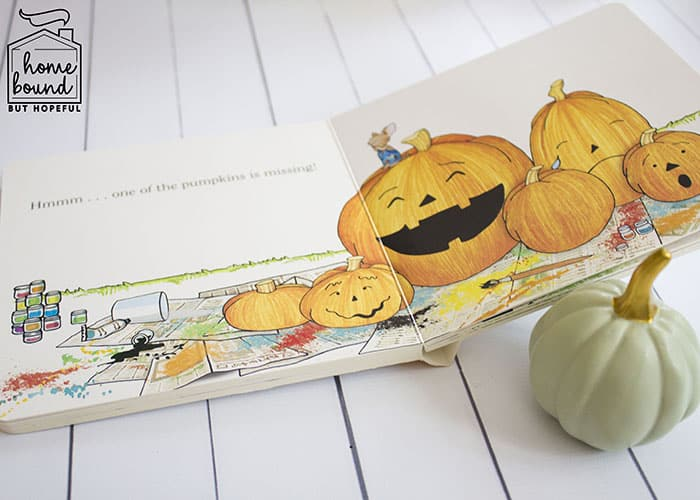 Not So Scary Halloween Book List- It's Pumpkin Day Mouse!