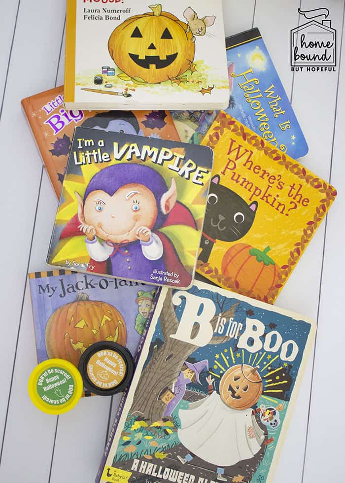 Not So Scary Halloween Book List