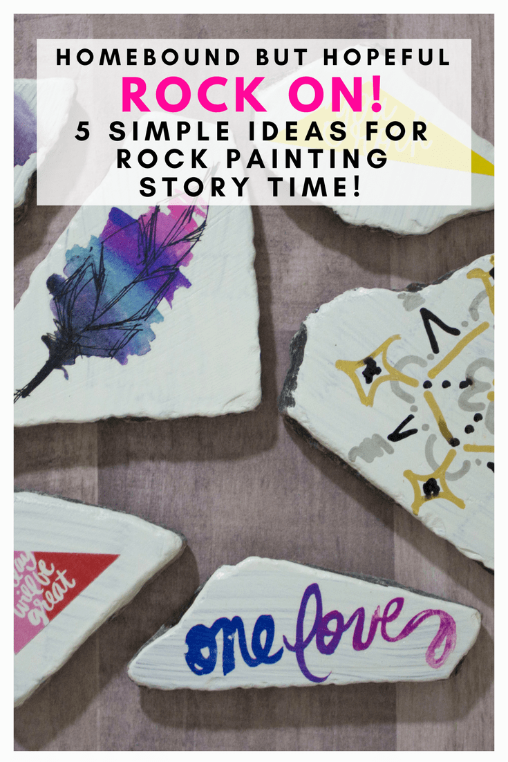 You and your kids need to try the rock painting trend that everyone is loving. Check out my picks for a rock painting story time, and my 5 simple methods for creative and easy rock decorating. #ad #rockpainting #storytime #beyondthebook #kidscrafts