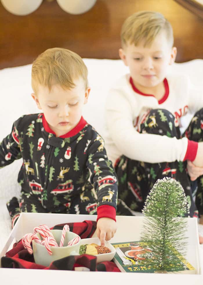 Christmas Eve Traditions- New Christmas Pajamas from Carters