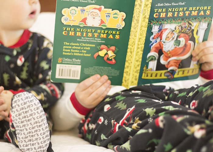 Christmas Eve Traditions- Read a Christmas Book