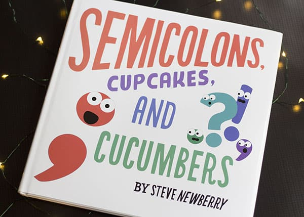 10 Kids Books To Give At Christmas- Semicolons Cupcakes and Cucumbers
