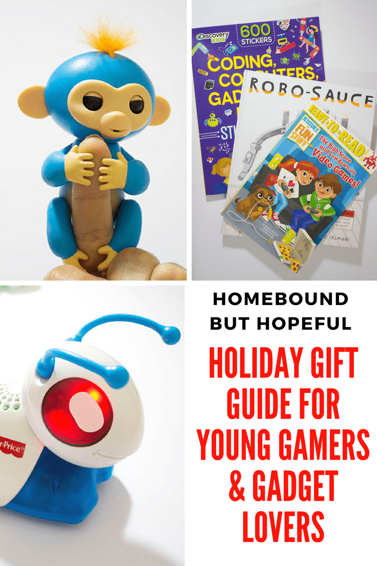 Have a kiddo that loves video games, gadgets, and all things tech? Be sure to check out my holiday gift guide before you start putting their gifts under the tree! #ad #Christmas #ChristmasShopping #holidaygiftguide #TechForKids #STEMforKids #gadgetsforkids #ChristmasShopping