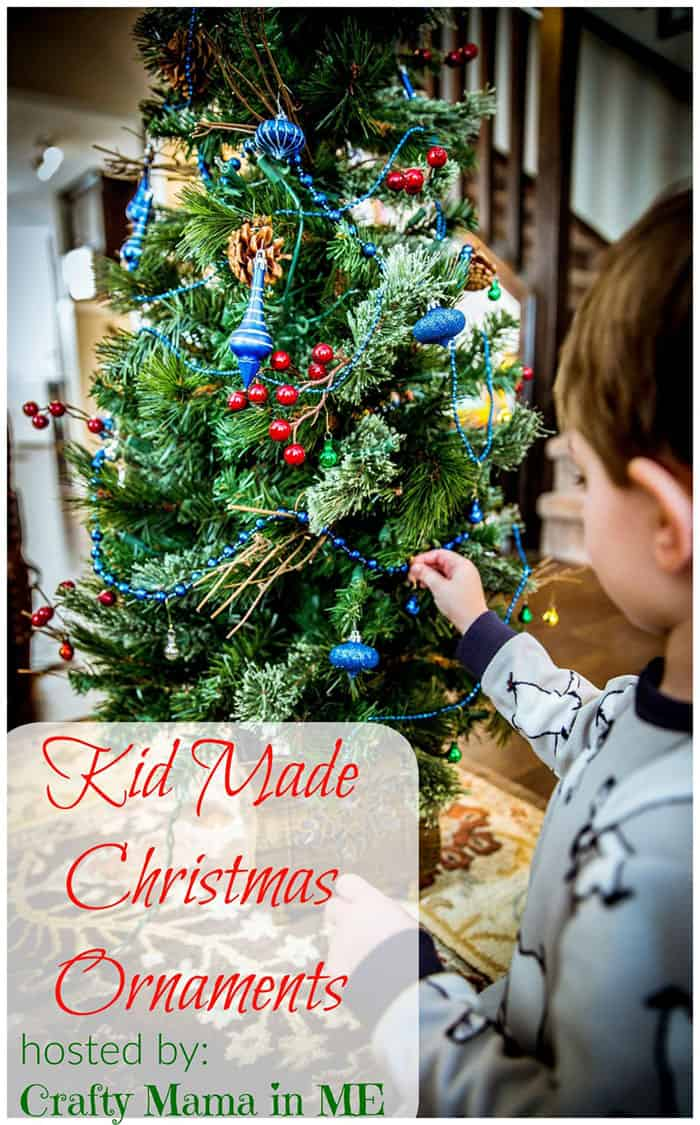 CRAFTY MAMA IN ME KID MADE CHRISTMAS ORNAMENTS 2017