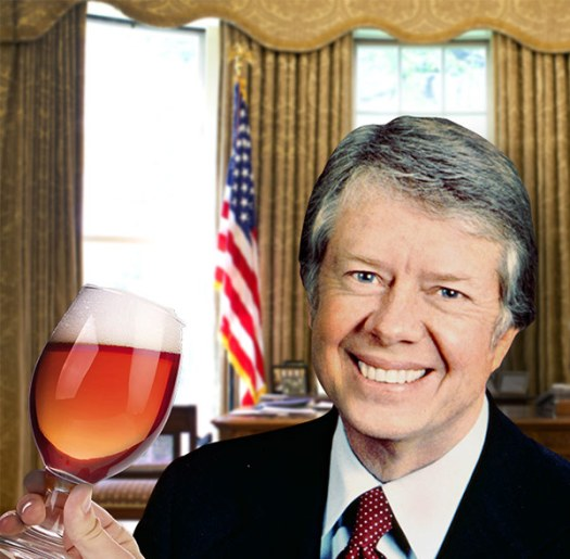 JImmy Carter Homebrewing