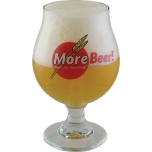MoreBeer! Belgian Glass - 16 oz. GL100
