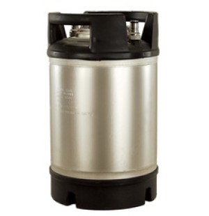Italian Made 2.5 Gallon Ball Lock Keg
