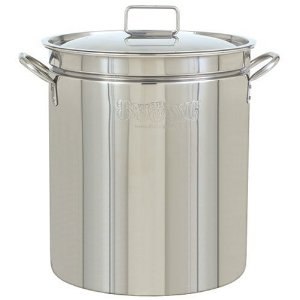Bayou Classic 1036, 36-Qt. Stainless Fryer/Steamer