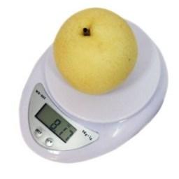 5Kg x 1g Digital Kitchen Scale Diet Food Compact Kitchen Scale 11lb x 0.04oz