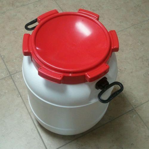 13 Gallon HDPE Food Safe Fermenter Grain Storage