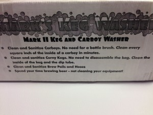Mark's Keg and Carboy Washer