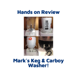 Hands On Review: Mark's Keg and Carboy Washer