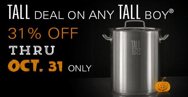 Tall Boy Kettle Sale