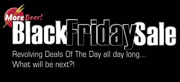 MoreBeer Black Friday Sale