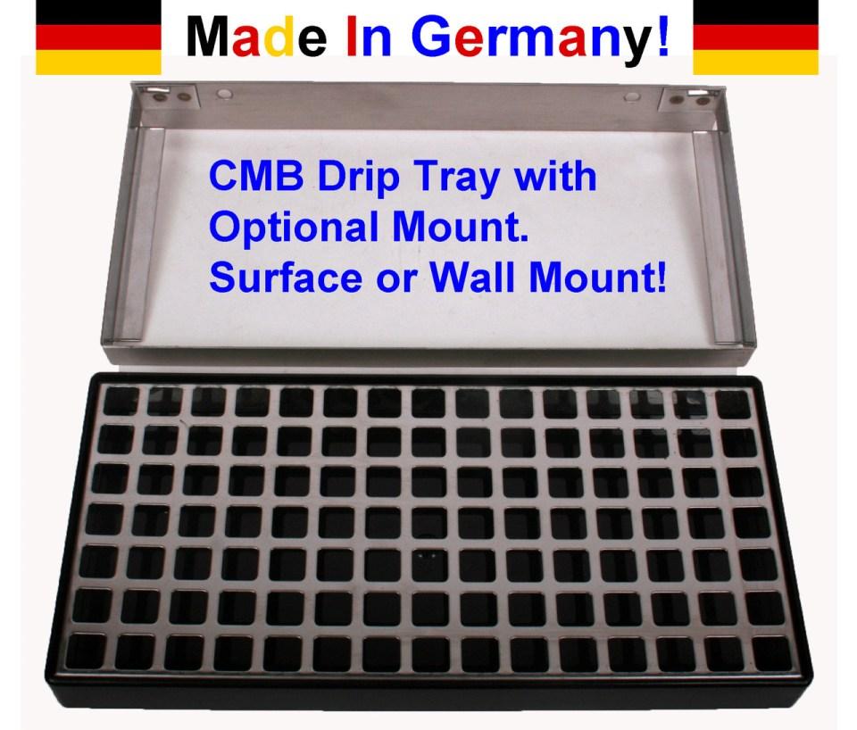 "12"" X 5"" X 1 1/4 "" Deep Drip Tray - CMB of Germany"