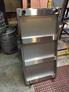 TRINITY EcoStorage NSF Stainless Steel Table, 48-Inch