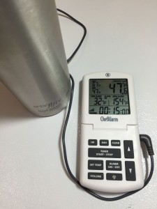Insulated Stainless Growler Homebrew Winemaking