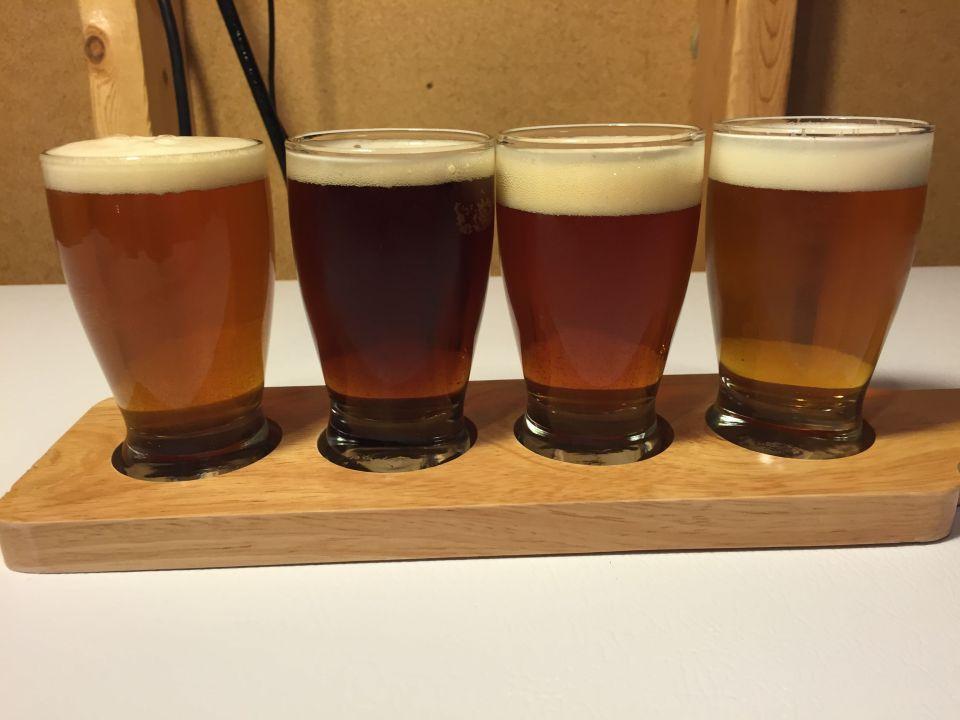 RiteBrew Tasting Sampler Paddle Homebrew Craft Beer