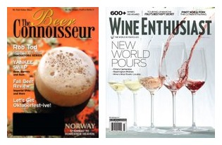 Wine and Beer Magazines